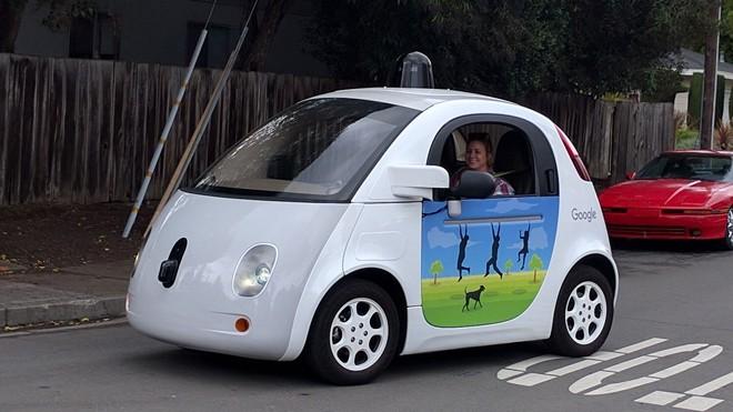 Xe tự lái Waymo của Google. Ảnh: Alphabet Inc