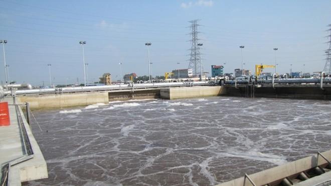 Dự án Nhà máy xử lý nước thải Yên Sở được KTNN kết luận chênh lệch tăng 147,8 triệu USD. Ảnh:  Gamuda Land