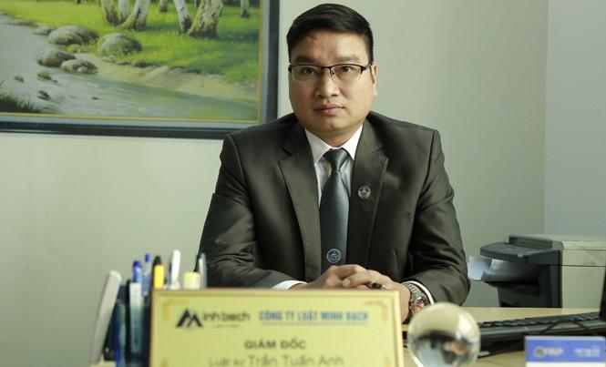 Luật sư Trần Tuấn Anh
