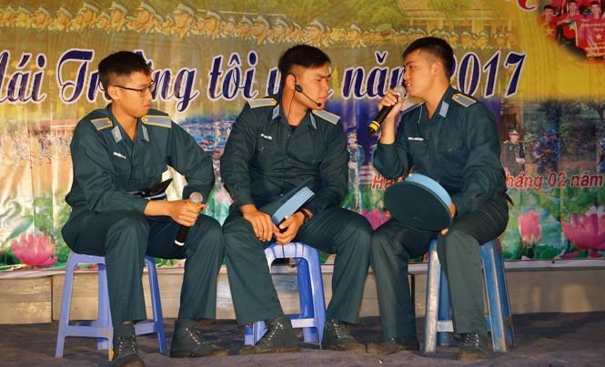 """Chương trình """"Mái trường tôi yêu"""" luôn thu hút sự tham gia, hưởng ứng sôi nổi của đoàn viên thanh niên Trường SQLQ 1. Ảnh: Nguyễn Minh"""