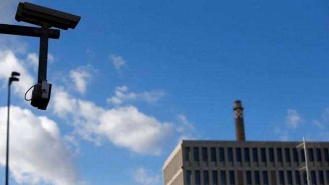 Bên ngoài trụ sở cơ quan tình báo nước ngoài của Đức (BND)