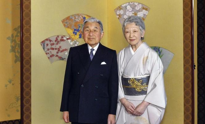 Nhà vua Akihito (sinh năm 1933) và Hoàng hậu Michiko (sinh năm 1934). Ảnh: Imperial Household Agency of Japan