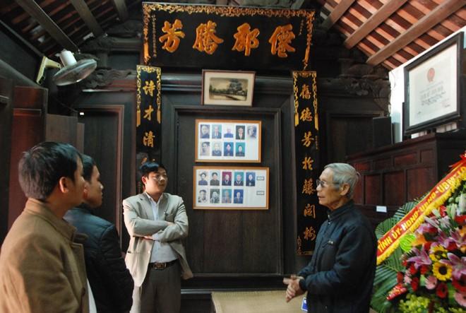 Nhà lưu niệm cố Tổng Bí thư Trường Chinh ở Hành Thiện.