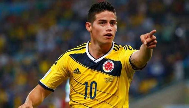 Rodriguez đang nổi lên là một ngôi sao lớn của bóng đá thế giới. Ảnh: Getty Images