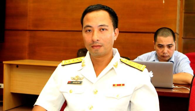 Đại úy Cấn Ngọc Sơn