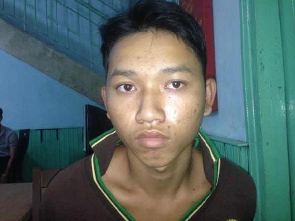 Nghi can Nguyễn Quốc Hậu, cầm đầu băng cướp liên tỉnh bị công an bắt giữ. Ảnh: Công an cung cấp.