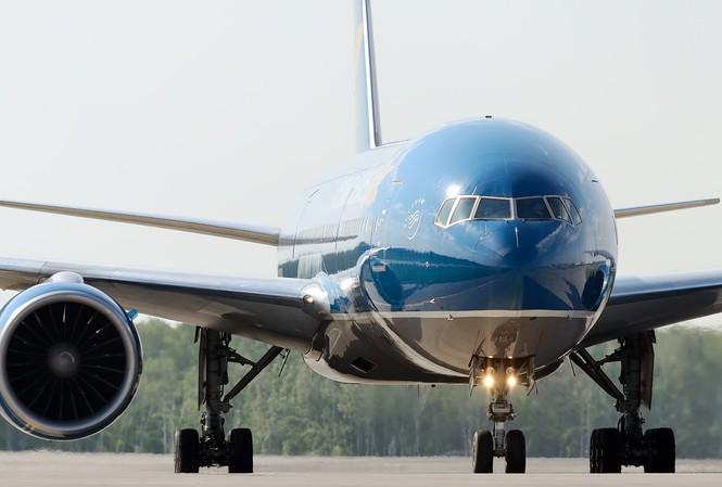 Một chiếc Boeing 777 đang được Vietnam Airlines khai thác.