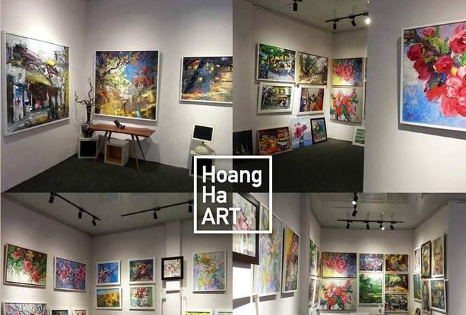 Ra mắt phòng tranh nghệ thuật Hoàng Hà ART
