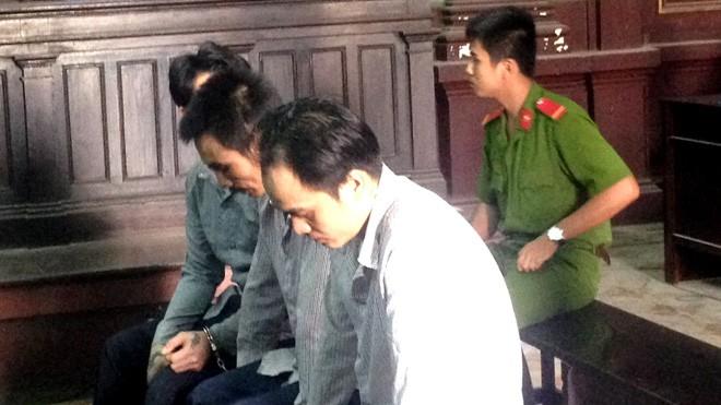 Các 'đại bàng' tại phiên tòa ngày 12/10. Ảnh: Tân Châu