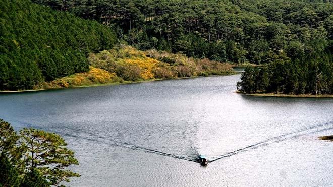 Phong cảnh tuyệt đẹp ở Tuyền Lâm