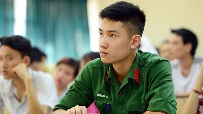 Các trường khối quân đội sơ tuyển từ tháng 3