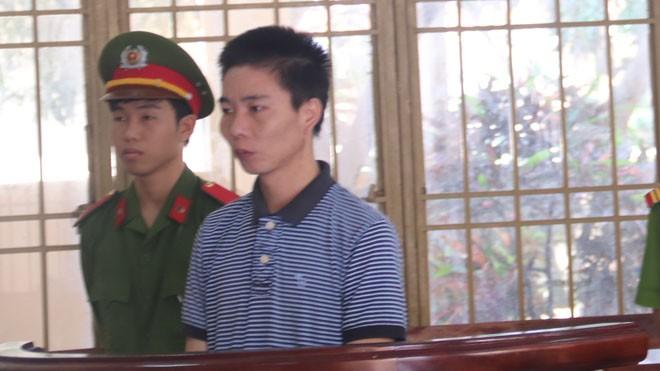 Bị cáo Trương Vĩnh Quốc tại tòa