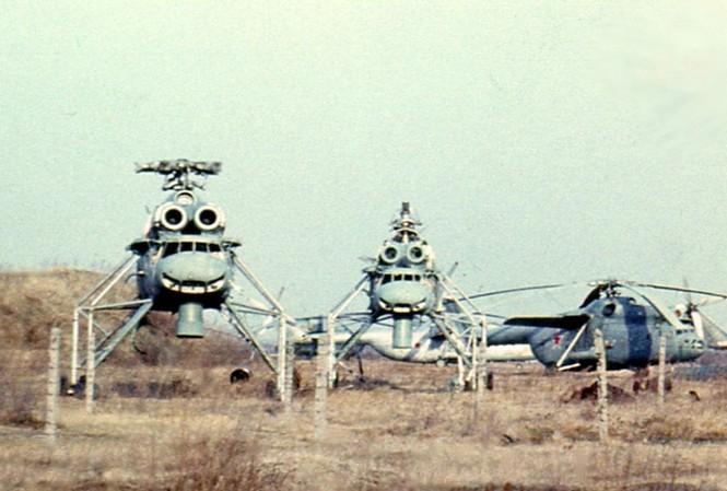 Vén màn nhiệm vụ tối mật của siêu trực thăng Mi-10PP