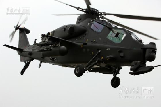 Trực thăng Z-10 của Trung Quốc