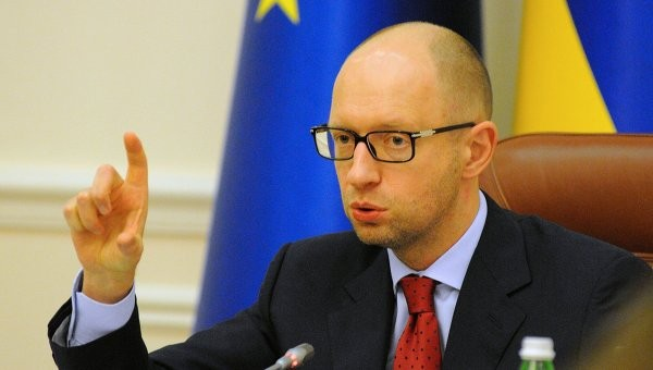 Thủ tướng Ukraine Arseni Yatsenyuk