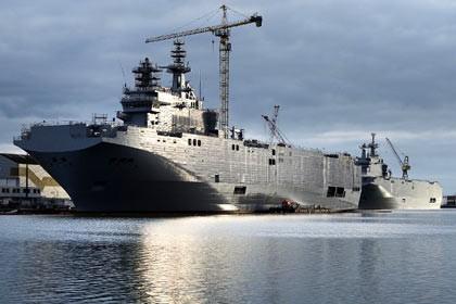 Tàu hỗ trợ đổ bộ trực thăng Mistral