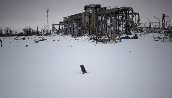 Sân bay Donetsk hoang tàn do các cuộc xung đột