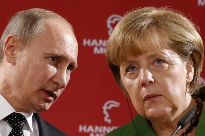 Thủ tướng Đức Angela Merkel khẳng định việc Tổng thống Putin không được mời tham dự Hội nghị G7