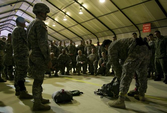 Các căn cứ quân sự Mỹ tại châu Âu đang được thắt chặt an ninh trước nguy cơ khủng bố
