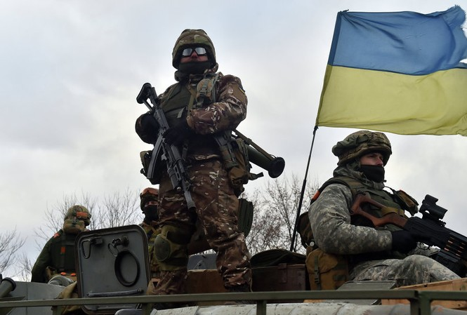 Mỹ tới Ukraine huấn luyện lực lượng Vệ binh quốc gia