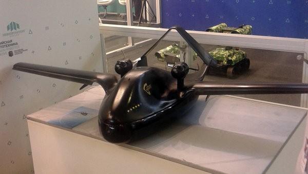 Nguyên mẫu máy bay tấn công không người lái Chirok của Nga