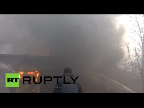 [VIDEO] Khói lửa bao trùm Mariupol