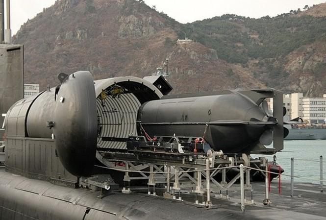 Vũ khí hạt nhân trên tàu ngầm Mỹ
