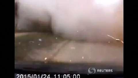Hé lộ clip pháo kích kinh hoàng ở thảm kịch Mariupol