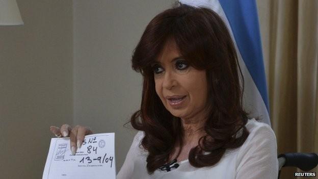 Tổng thống Argentina Cristina Fernandez de Kirchner