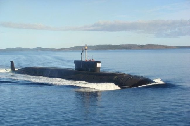Tàu ngầm hạt nhân Yuri Dolgoruky