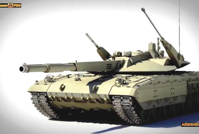 [VIDEO] 'Lộ' thiết kế độc đáo của siêu tăng T-14 Armata?