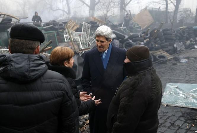 Ngoại trưởng Mỹ John Kerry dự kiến tới Ukraine vào ngày 5/2 tới.