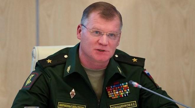 Người phát ngôn Bộ Quốc phòng Nga Igor Konasenkov. Ảnh: Tass