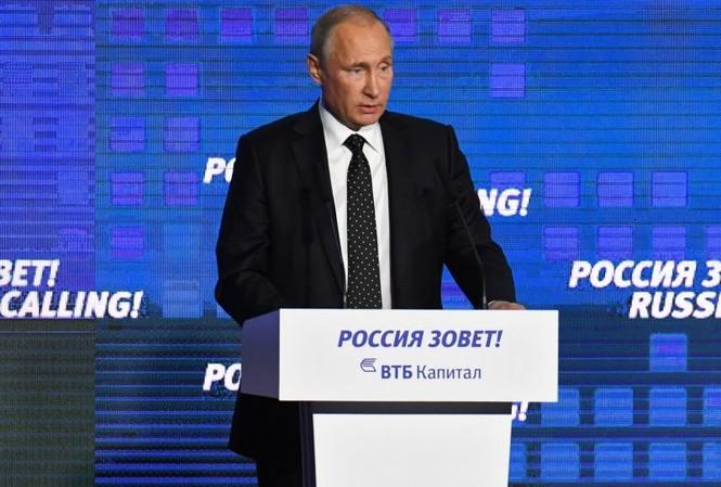 Tổng thống Vladimir Putin: 'Nga muốn thân thiện với Mỹ'. Ảnh: Sputnik