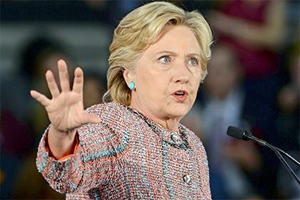 Bà Clinton từng tuyên bố muốn bao vây Trung Quốc bằng hệ thống phòng thủ tên lửa. Ảnh: AP