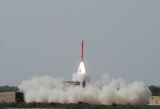 Pakistan thử thành công tên lửa có thể mang đầu đạn hạt nhân