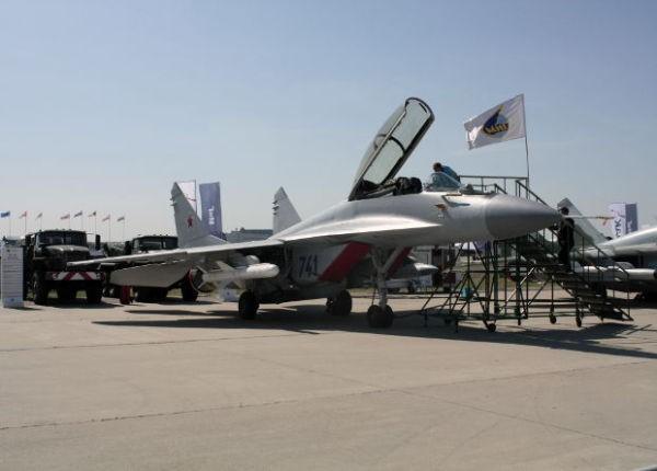 Chiến đấu cơ đa nhiệm MiG-35. Ảnh: Bộ Quốc phòng Nga.