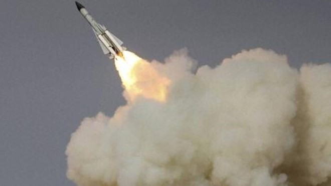 Tên lửa Đông Phong - 5C. (Nguồn: AP)