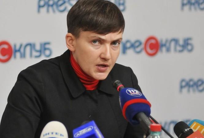 Nghị sĩ Quốc hội Ukraine Nadezhda Savchenko. Ảnh: Sputnik