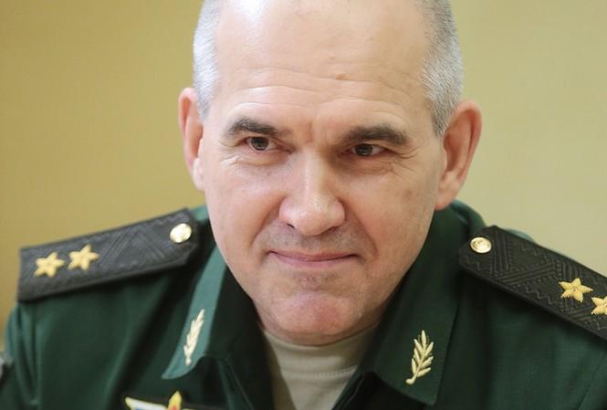 Chỉ huy trưởng Cục tác chiến Bộ tổng tham mưu, Thượng tướng Sergei Rudskoy. Ảnh: Bộ Quốc phòng Nga