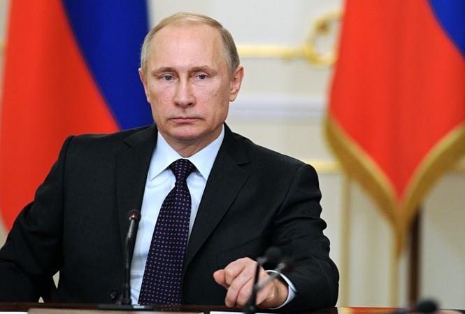 Tổng thống Nga Vladimir Putin cho rằng cuộc tấn công Syria bằng tên lửa hành trình của Mỹ gây tổn hại nghiêm trọng tới mối quan hệ Nga – Mỹ. Ảnh: Tass