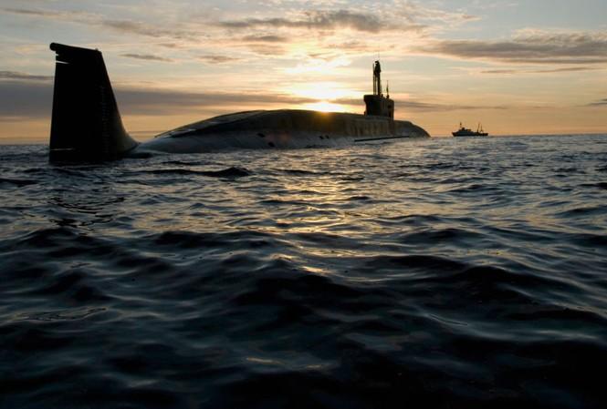 Tàu ngầm hạt nhân chiến lược của Nga. Ảnh: RIA Novosti