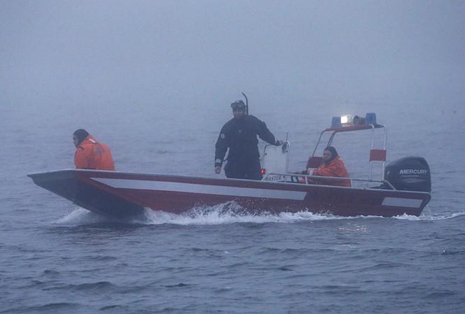 Công tác cứu hộ đang được Nga triển khai ở khu vực Biển Đen. Ảnh: Tass