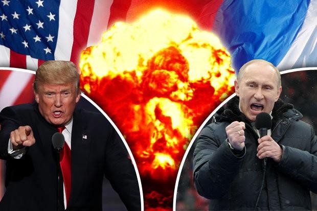 Quan hệ giữa Tổng thống Nga Vladimir Putin và Donald Trump đang bị thử thách bởi biến động ở Syria và Bán đảo Triều Tiên. Ảnh: AP