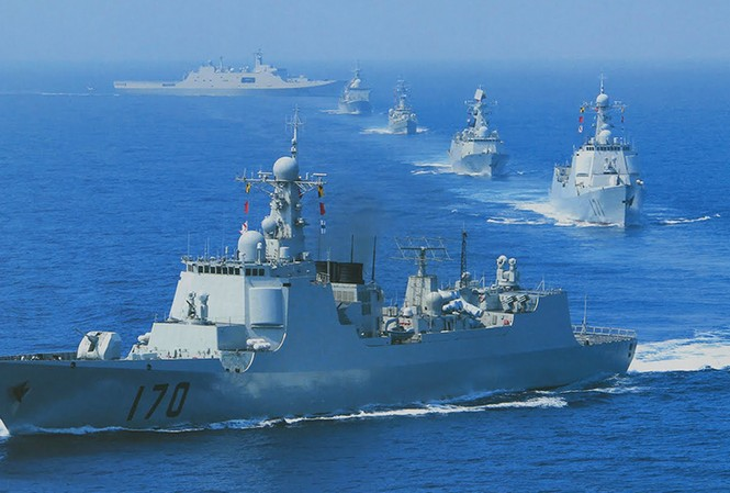 THẾ GIỚI 24H: Tàu chiến Trung Quốc tới Nga tập trận