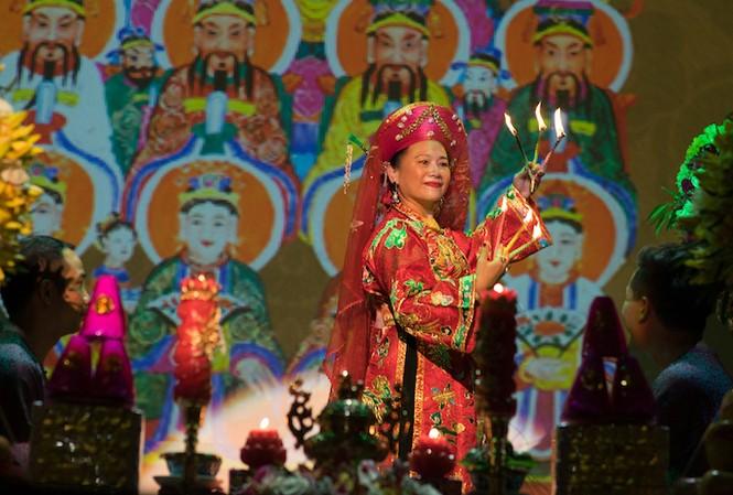 Lễ chào mừng 'Tín ngưỡng thờ Mẫu' là di sản văn hóa nhân loại