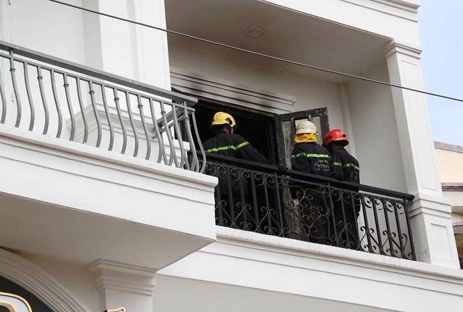 Nguyên nhân vụ cháy đang được điều tra.