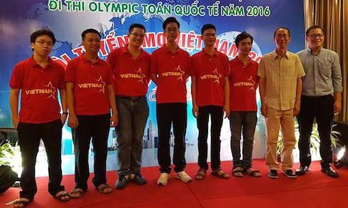 Công bố 6 học sinh Việt Nam đi thi Olympic Toán học quốc tế