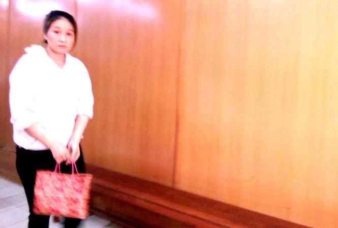 'Chủ chứa' Lâm Thị Thùy Dung tại tòa ngày /4. Ảnh: Tân Châu