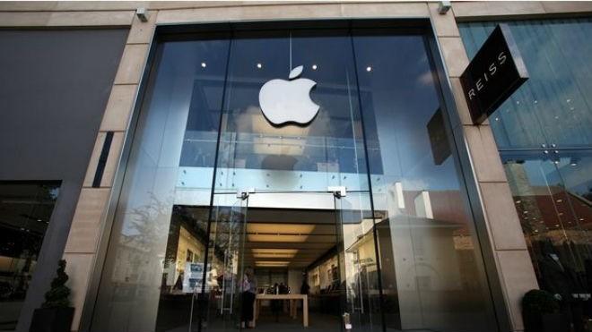 Cửa hàng của Apple tại Bristol - nơi diễn ra vụ việc.